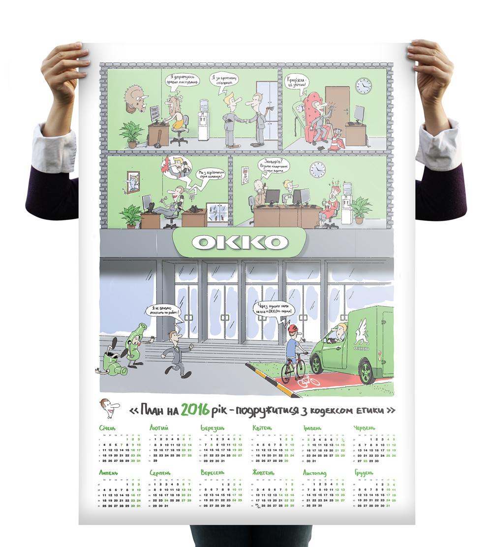 kalendar okko