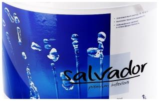 Краски ТМ «Salvador»