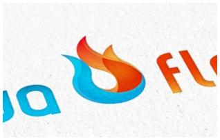 Логотип для Aqua Flame
