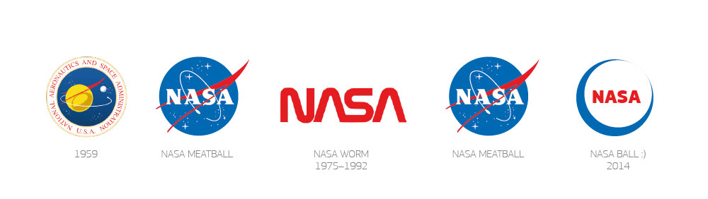 easy to draw nasa symbol - photo #7